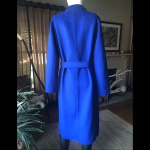 Robert Rodriguez Sapphire wool blend coat XS